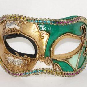 Venetiaalns masker Civette groen