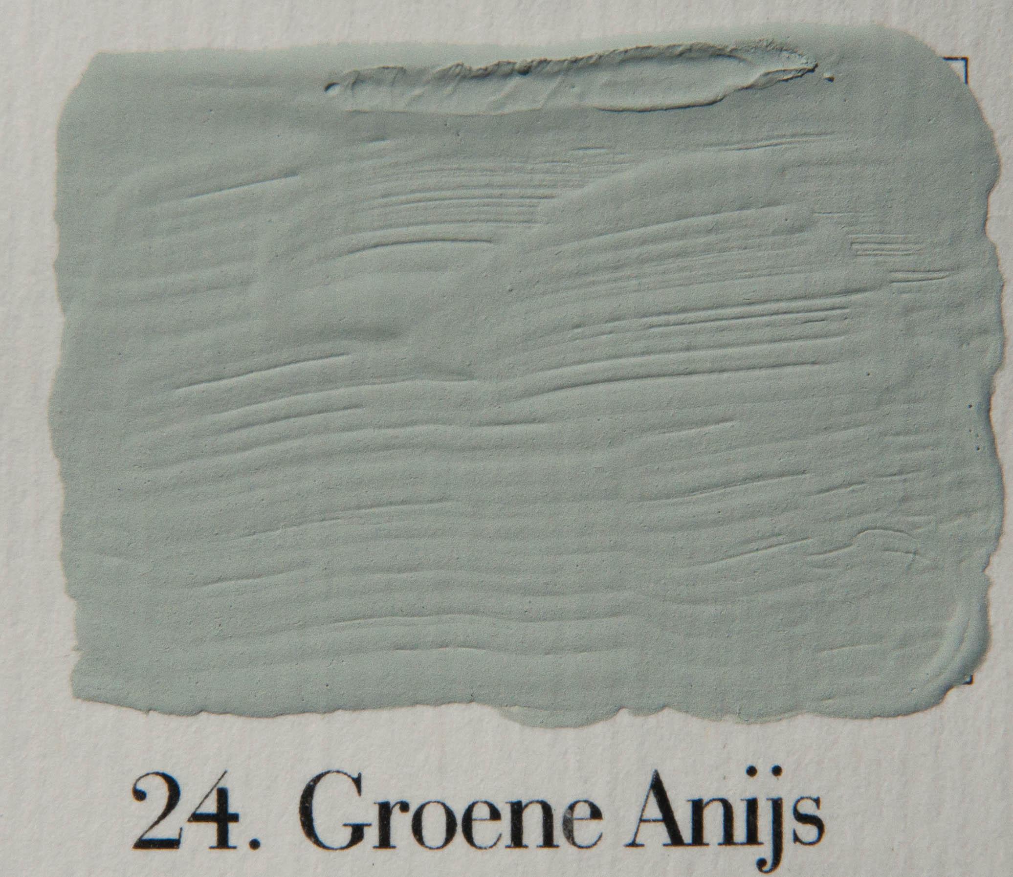 L authentique krijtverf, kleur groene anijs