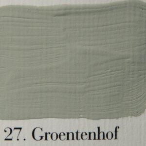 'l Authentique krijtverf 27. Groentenhof