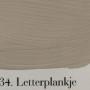 'l Authentique krijtverf 34. letterplankje