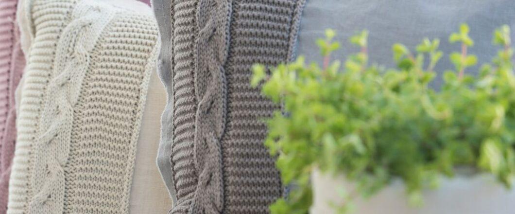 Knit Factory plaid Jill 't Maaseiker Woonhuys