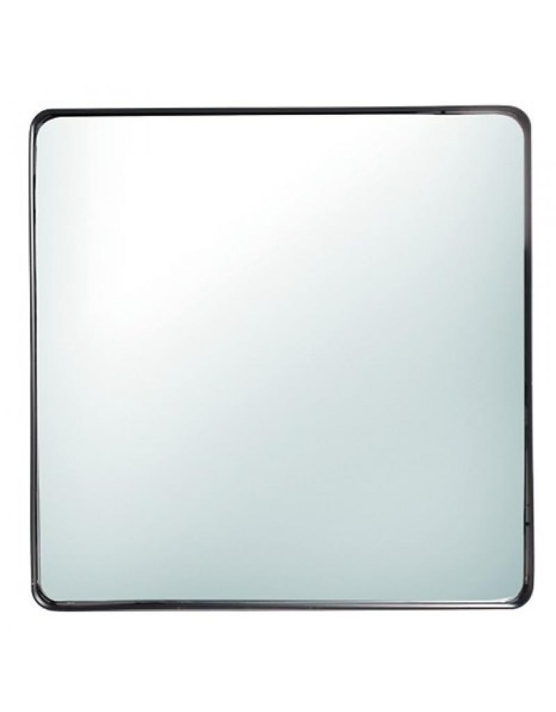 spiegel met ijzeren rand 50 x 50 cm maaseikerwoonhuys. Black Bedroom Furniture Sets. Home Design Ideas