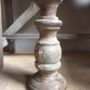 Aura Peeperkorn, houten kandelaar S 't Maaseiker Woonhuys
