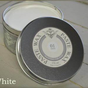 Paste Wax Painting the Past kleur White 't Maaseiker Woonhuys