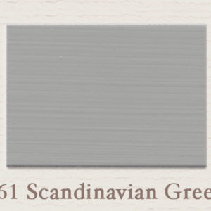 Painting the Past Scandinavian Green 't Maaseiker Woonhuys