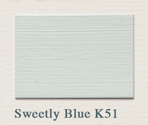 Painting the Past Sweetly Blue K51