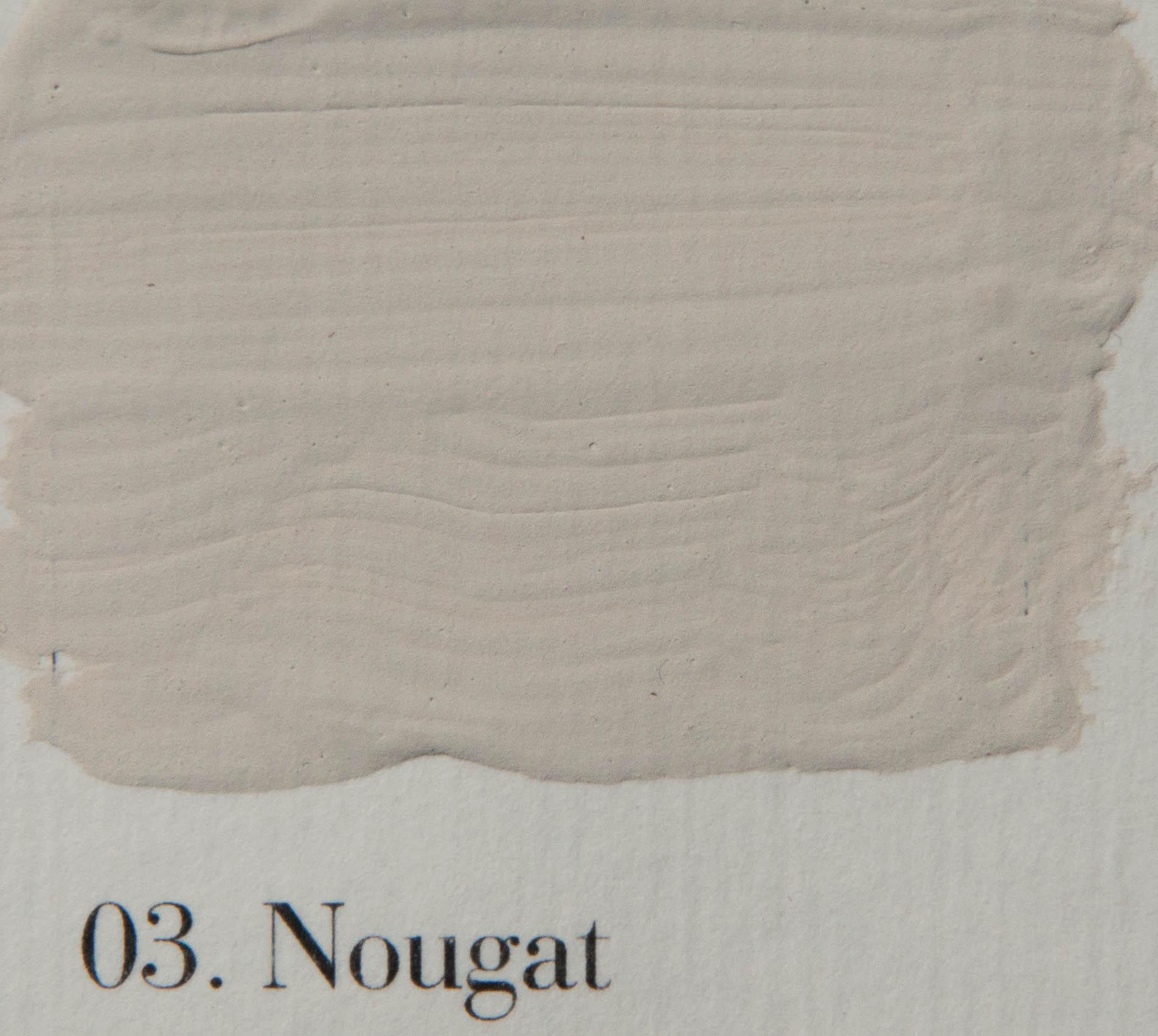 'l Authentique krijtverf 03. Nougat