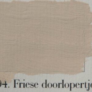 'l Authentique krijtverf 04. Friese doorlopertjes