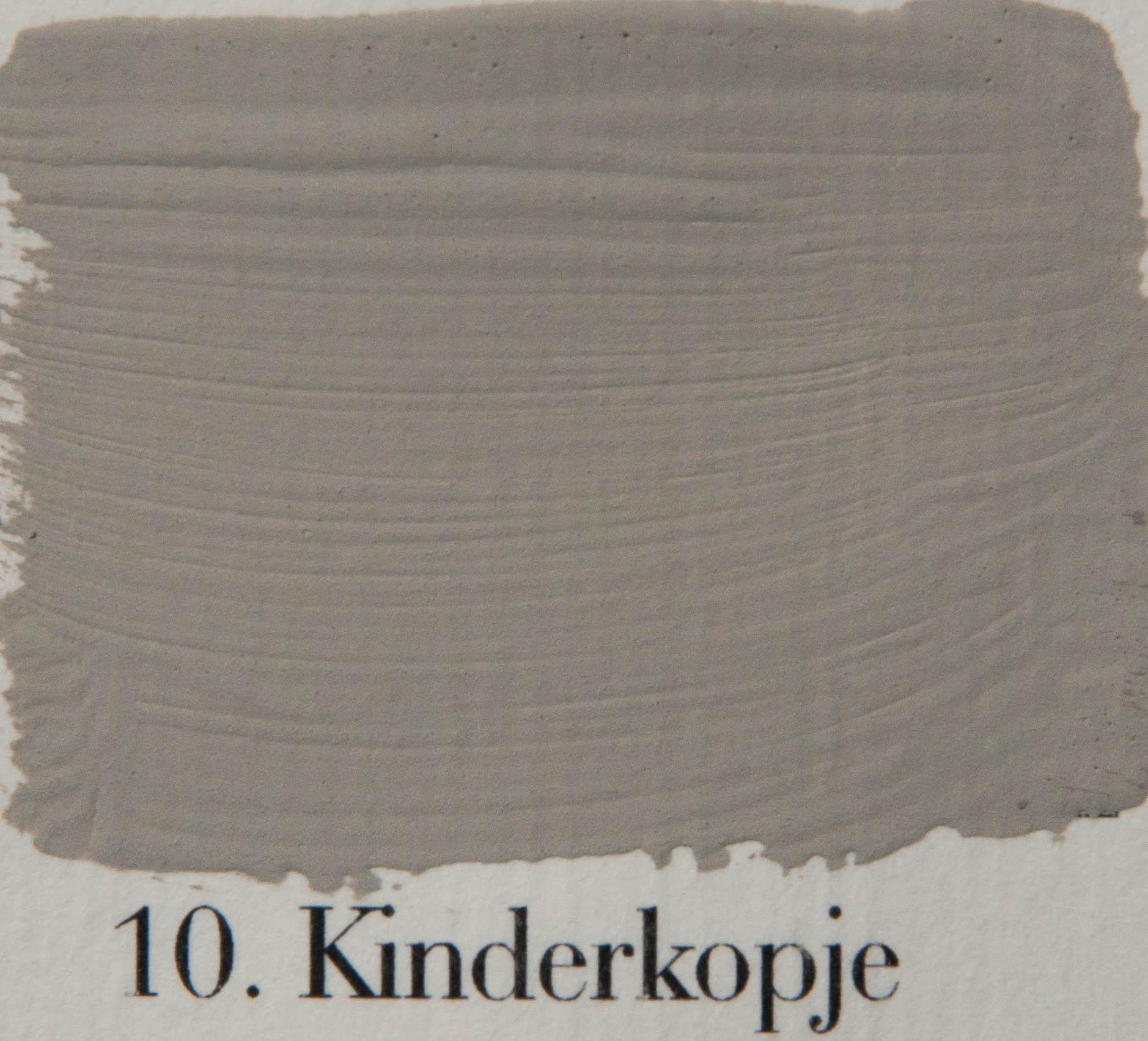 'l Authentique krijtverf 10. Kinderkopje