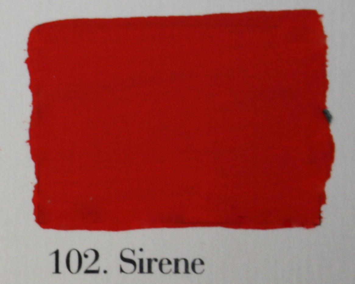 'l Authentique krijtverf 102. Sirene