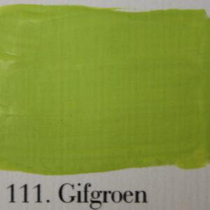 'l Authentique krijtverf 111. Gifgroen
