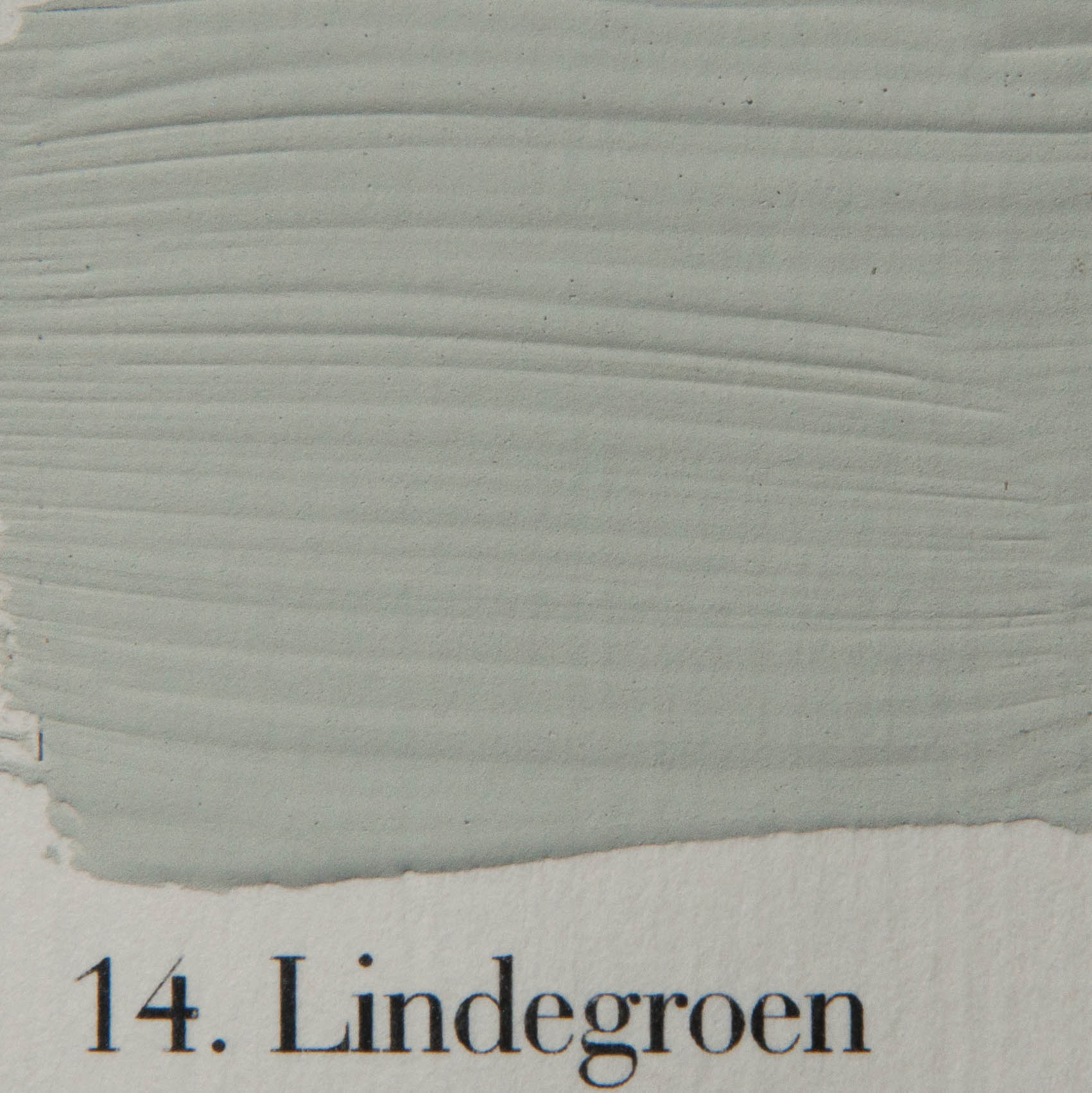 'l Authentique krijtvef 14. Lindegroen