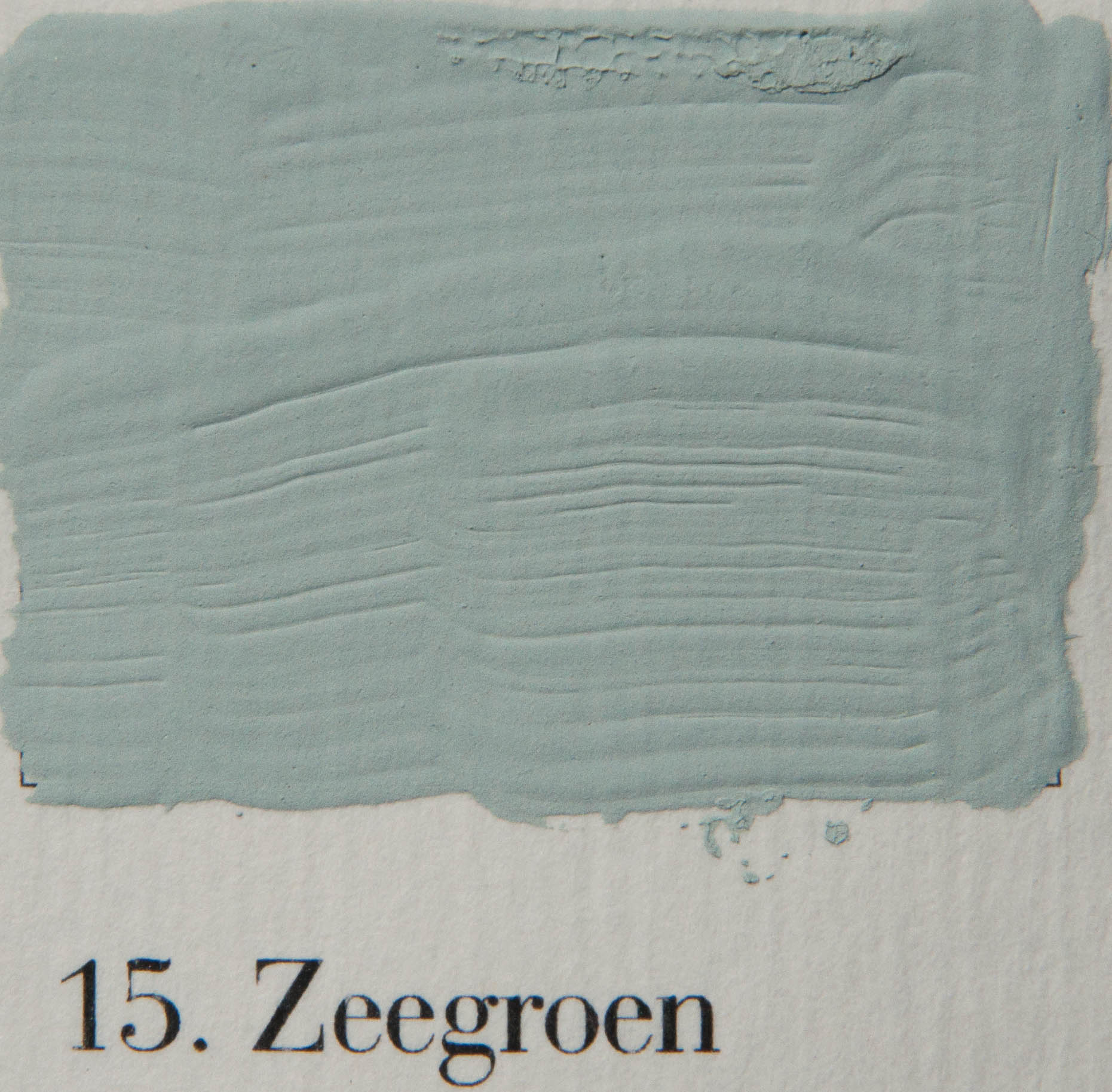 'l Authentique 15.Zeegroen