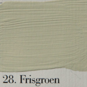 'l Authentique krijtverf 28. Frisgroen