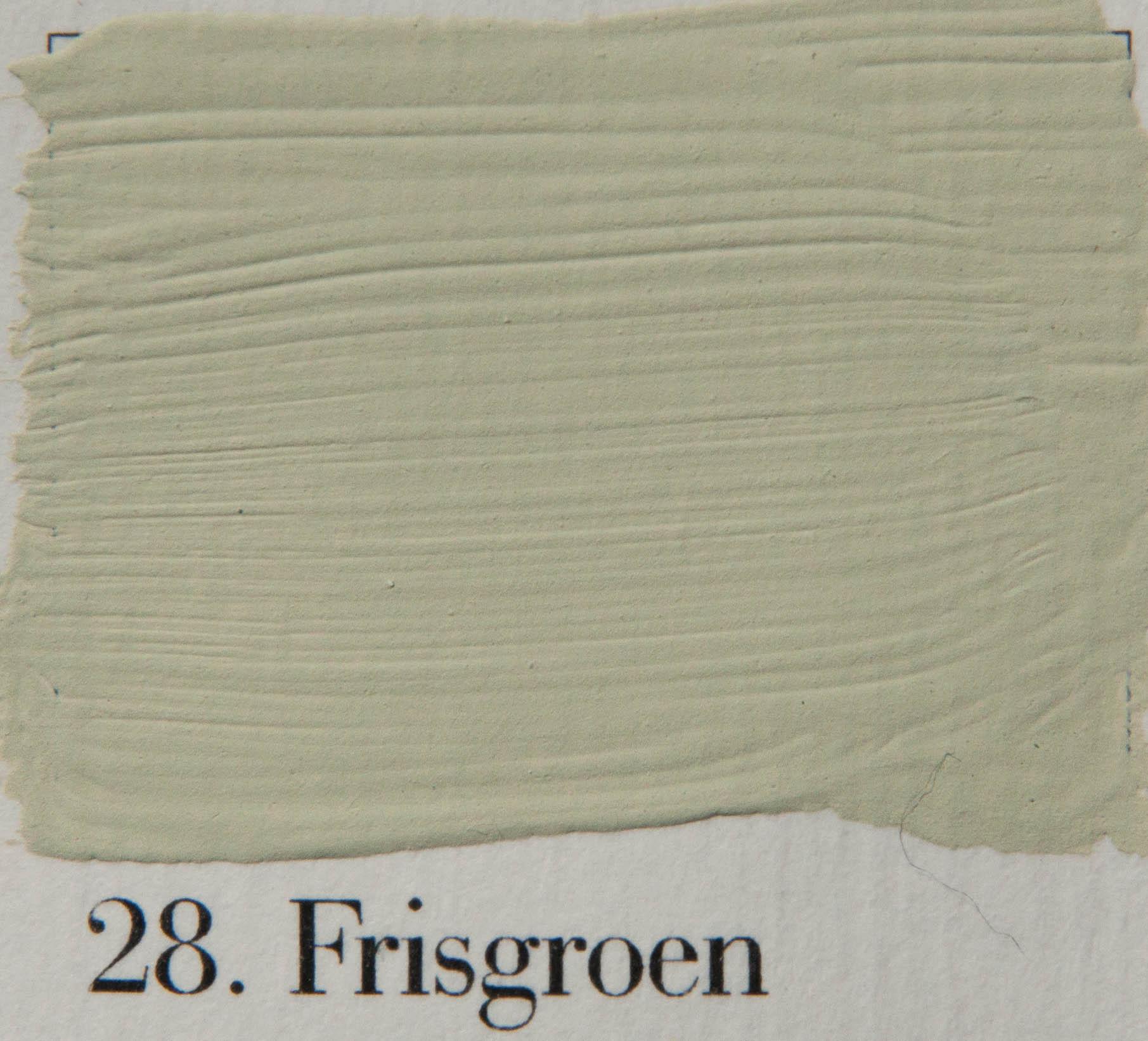 'l Authentique krijtverf 28. Frisgroen
