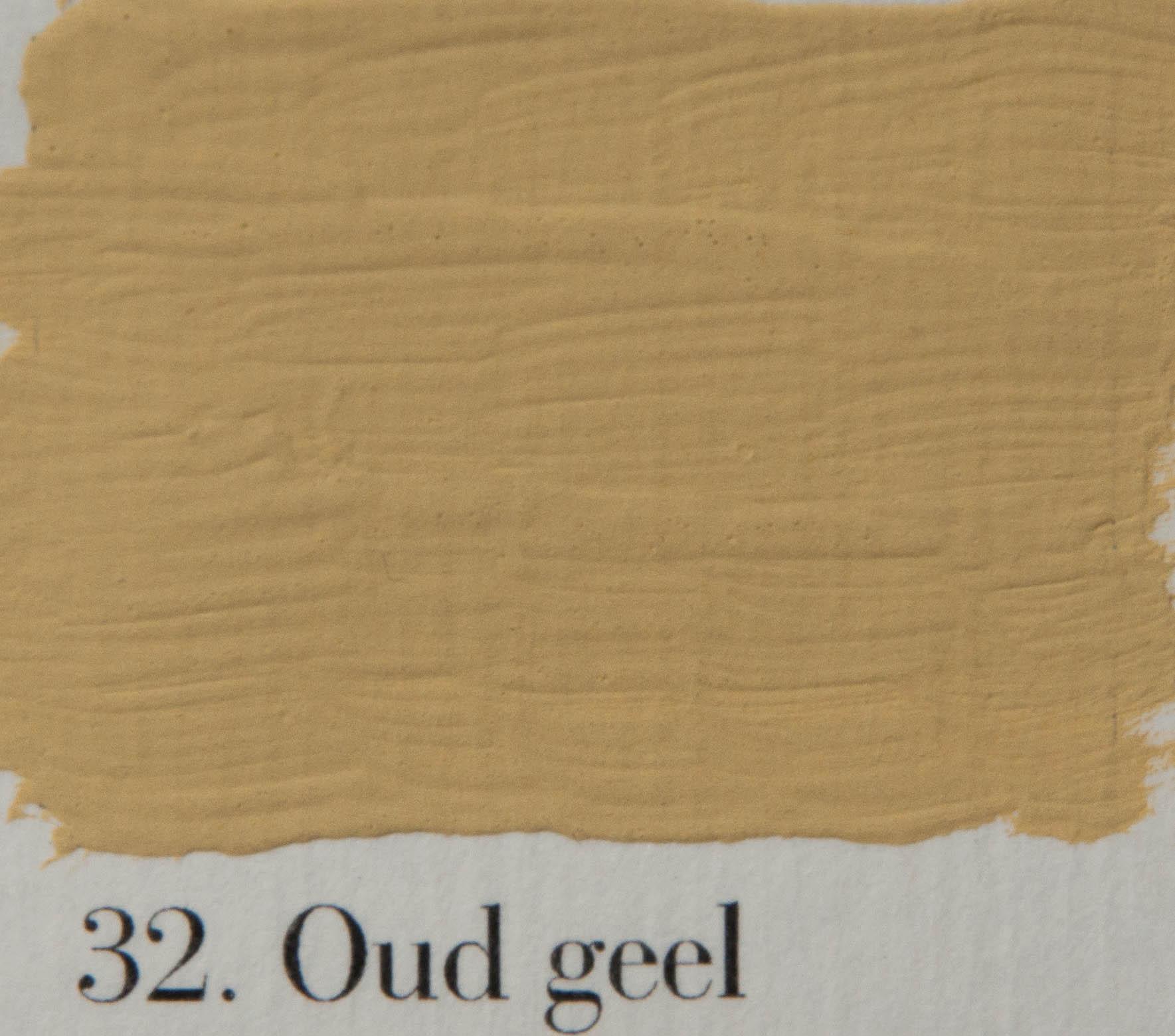 'l Authentique krijtverf 32. Oud geel