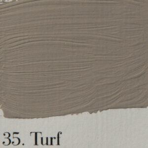 'l Authentique krijtverf 35. Turf