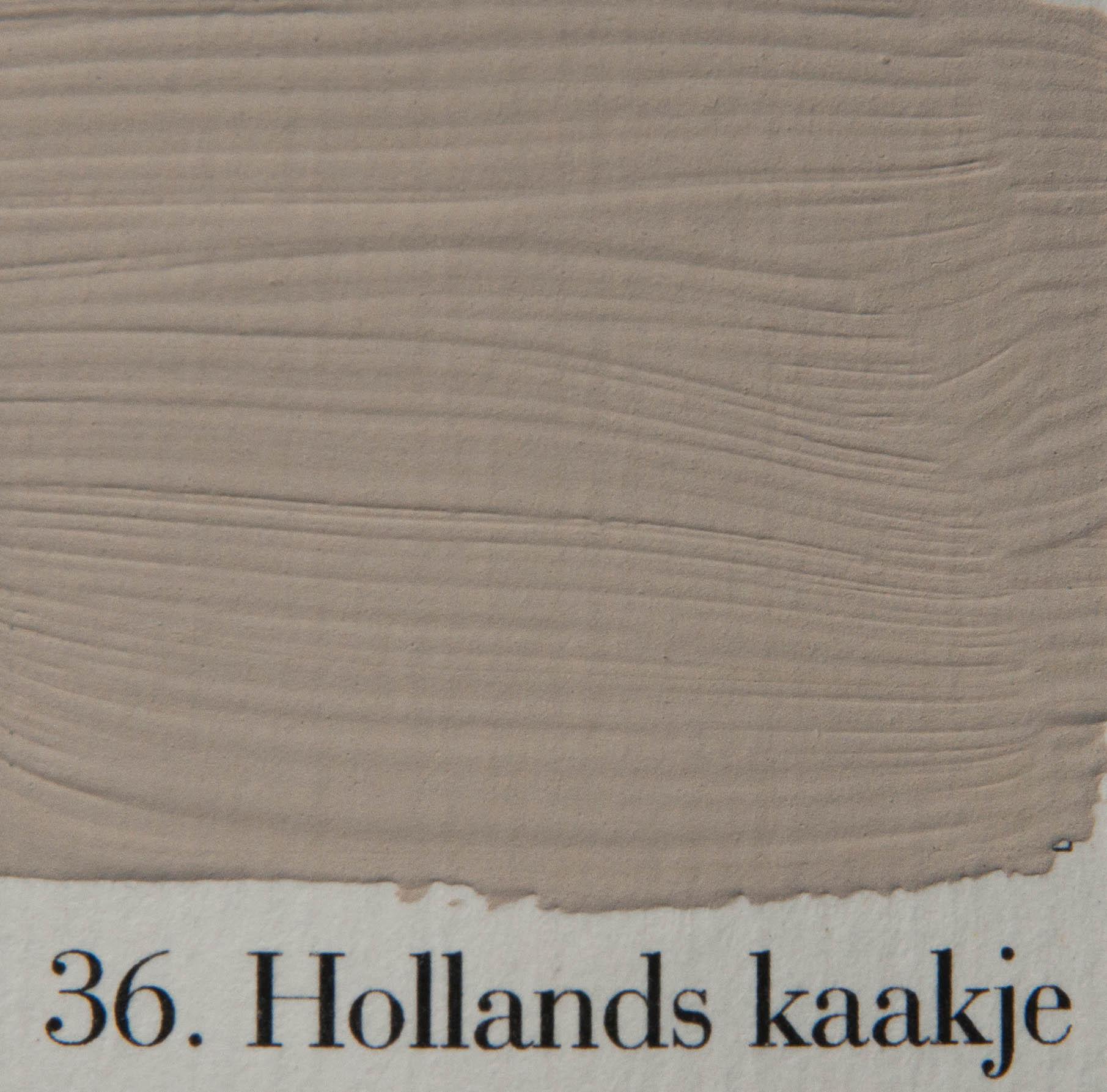 'l Authentique krijtverf 36. Hollands kaakje