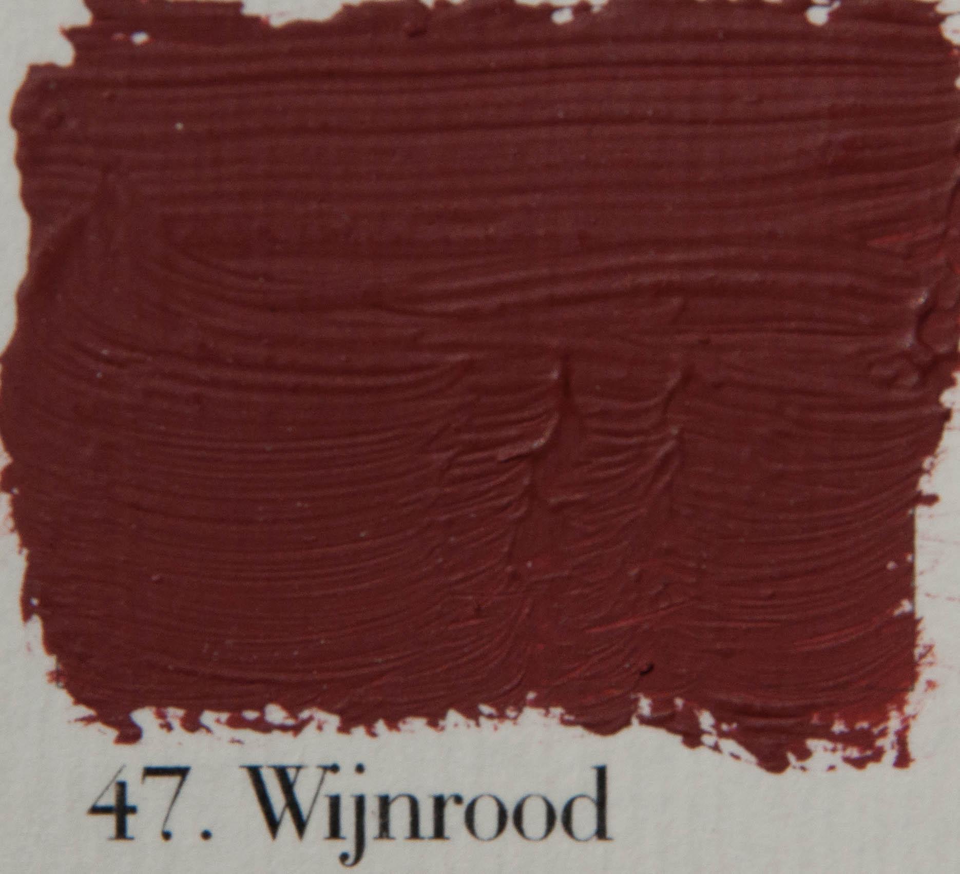 'l Authentique krijtverf 47. Wijnrood