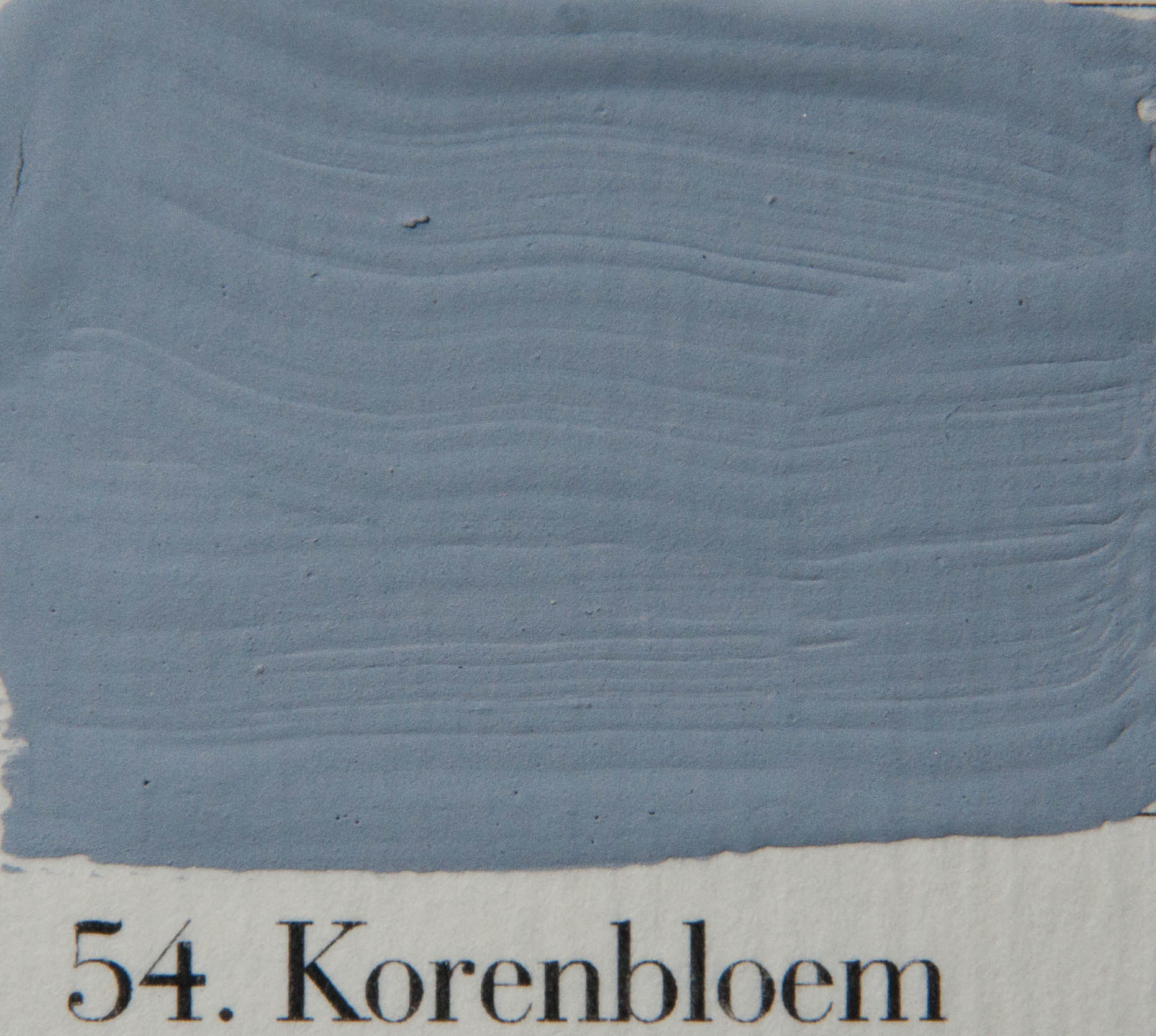 'l Authentique krijtverf 54.Korenbloem