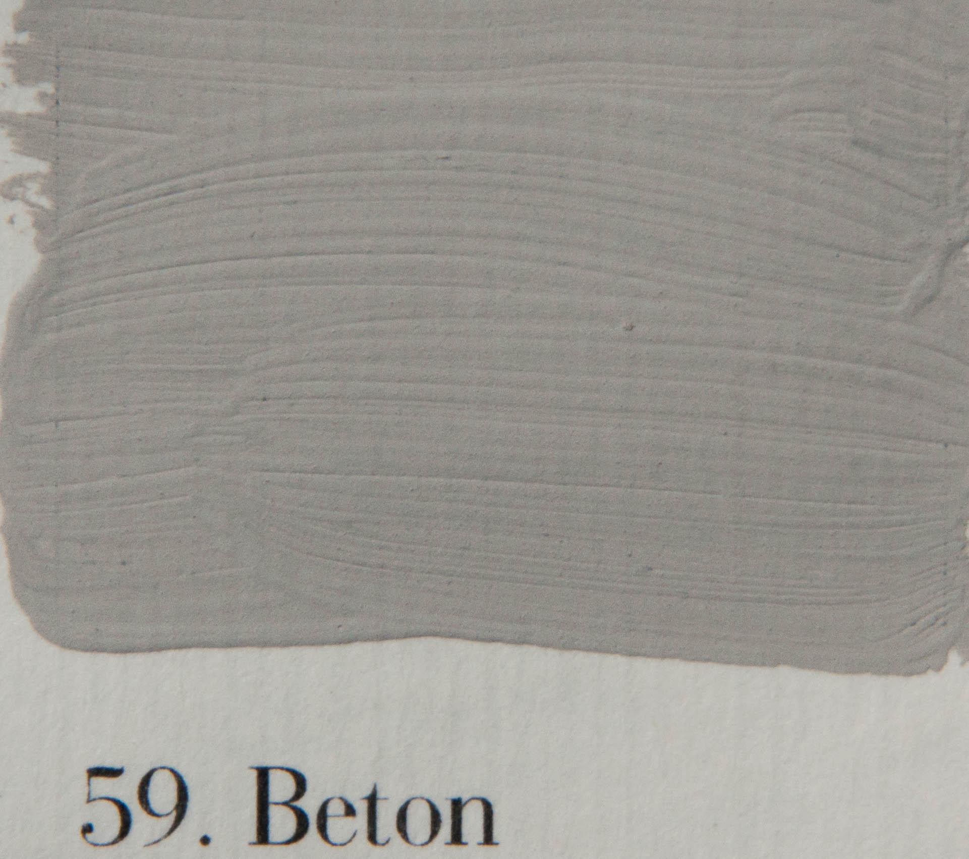 'l Authentique krijtverf 59. Beton