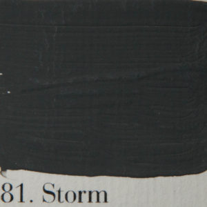 'l Authentique krijtverf 81. Storm