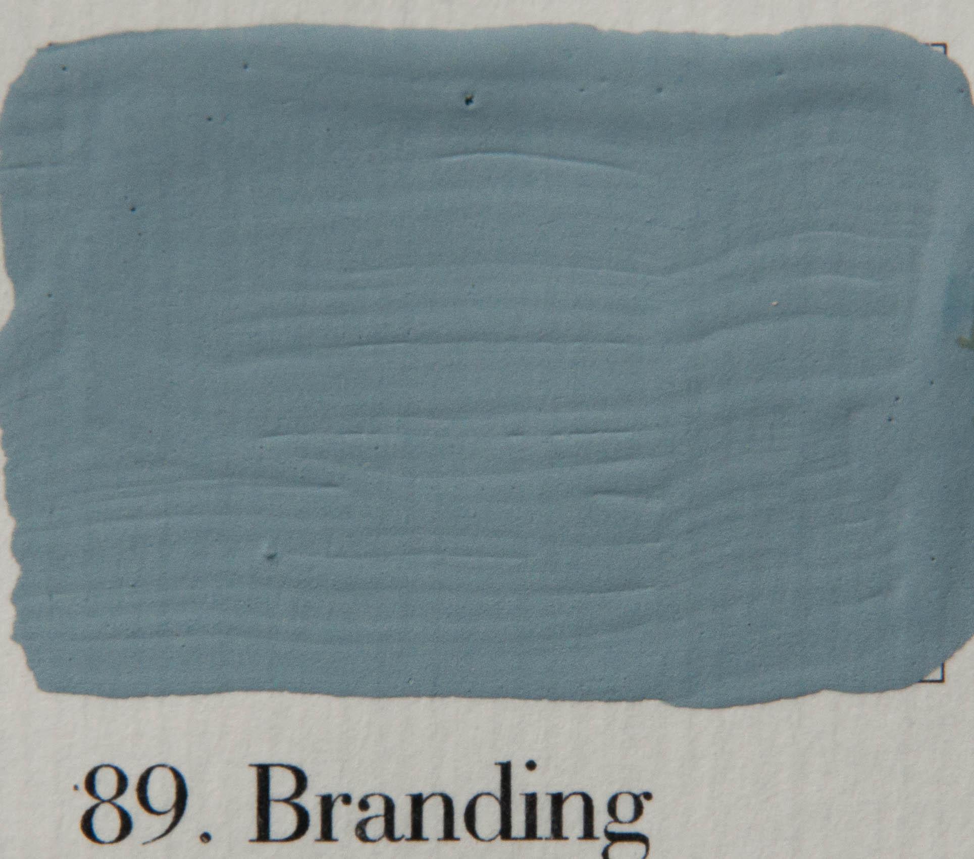 'l Authentique krijtverf 89. Branding