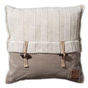 Knit Factory kussen Rib 't Maaseiker Woonhuys