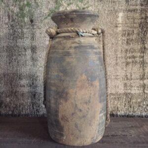 Hoffz unieke houten pot 't Maaseiker Woonhuys