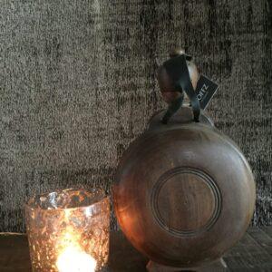 Hoffz oude drinkfles 't Maaseiker Woonhuys