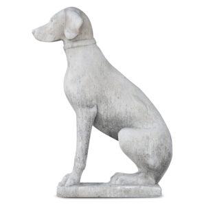 Tuinbeeld hond 't Maaseiker Woonhuys